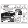 KAPPA KZ263 HONDA CB 600F HORNET - ABS (07-10) ARKA ÇANTA TASIYICI