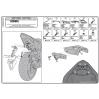 KAPPA KZ1102 HONDA CBR 600F - HORNET CB 600 (11-13) ARKA ÇANTA TAŞIYICI