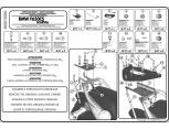 GIVI SR5109 BMW F800GT (13-16) - F800R (09-16) - F800ST (06-16) ARKA ÇANTA TASIYICI