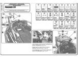 GIVI SR108 PIAGGIO MP3 125-250-300-400-500 (06-14) ARKA ÇANTA TASIYICI