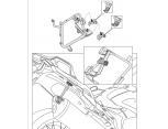 KAPPA KLXR1110 HONDA VFR 1200X CROSSTOURER (12-19) YAN ÇANTA TAŞIYICI
