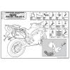 KAPPA KLR6401 TRIUMPH TIGER 800 (11-16) YAN ÇANTA TASIYICI