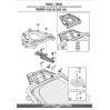 KAPPA KR6403 TRIUMPH TIGER EXPLORER 1200 (12-15) ARKA ÇANTA TASIYICI