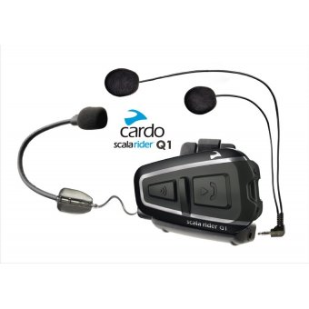 SCALA RIDER Q1 BLUETOOTH VE INTERCOM (TEKLI PAKET)
