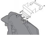 GIVI 1132KIT HONDA VFR 800 F (14-18) YAN ÇANTA TASIYICI BAGLANTI KITI