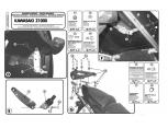 GIVI 4104FZ KAWASAKI ER-6N - ER-6F 650 (12-16) ARKA ÇANTA TASIYICI