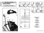 GIVI SR312 DUCATI MULTISTRADA 1200 (10-14) ARKA ÇANTA TASIYICI