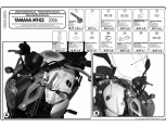 KAPPA A281A YAMAHA MT-03 (06-14) RÜZGAR SIPERLIK BAGLANTISI