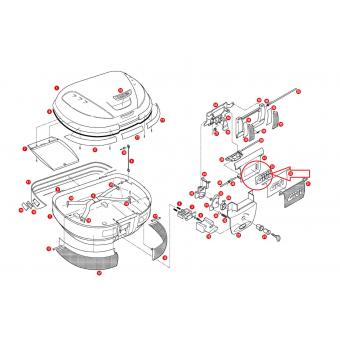 GIVI Z229 ÇANTA PLASTİK LOGO E52-V46-E340