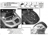 GIVI E291 SYM HD EVO 125-200 (07-15) ARKA ÇANTA TAŞIYICI