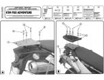 GIVI E650M KTM ADVENTURE 950-990 (03-14) ARKA ÇANTA TAŞIYICI