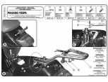 GIVI SR131 PIAGGIO VESPA GTS 125-300 SUPER (08-16) ARKA ÇANTA TASIYICI
