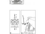 KAPPA KR11 PIAGGIO HEXAGON 125-150-180-250 (01-04) ARKA ÇANTA TASIYICI