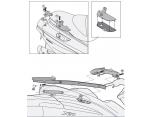 GIVI SR5604 PIAGGIO X10 125-350-500 (12-16) ARKA ÇANTA TAŞIYICI