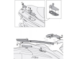 GIVI SR5604M PIAGGIO X10 125-350-500 (12-16) ARKA ÇANTA TAŞIYICI
