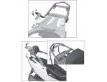 GIVI SR6101 KYMCO G-DINK 125-300 (12-17) ARKA ÇANTA TAŞIYICI