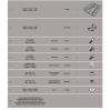 GIVI SR6105 KYMCO SUPER 8 125 (13-16) ARKA ÇANTA TASIYICI