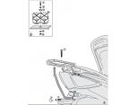 GIVI SR7052M SYM JOYMAX 250-300I (12-20) ARKA ÇANTA TAŞIYICI