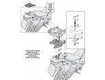KAPPA KZ7707 KTM DUKE 125-390 (17-18) ARKA ÇANTA TASIYICI