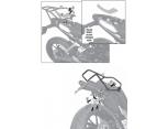 GIVI SR7701 KTM DUKE 125-200-390 (11-16) ARKA ÇANTA TASIYICI