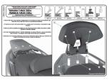 GIVI TB55 YAMAHA X-MAX 125-250 (10-13) SISSYBAR