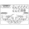 GIVI TE1102 HONDA HORNET 600 (11-13) - CBR 600 F (11-13) YAN KUMAS ÇANTA TASIYICI