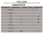 GIVI TE4100 KAWASAKI Z 1000 SX (11-16) YAN KUMAS ÇANTA TASIYICI