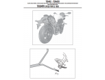 GIVI TE6402 TRIUMPH SPEED TRIPLE 1050 (11-15) YAN KUMAŞ ÇANTA TAŞIYICI
