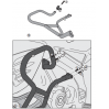 GIVI TN3101 SUZUKI DL 650 V-STROM (11-16) KORUMA DEMIRI