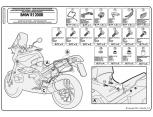 GIVI PLR5103 BMW F650GS - F800GS (08-17) -  F700GS (13-16) YAN ÇANTA TASIYICI