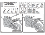 GIVI PLXR4100 KAWASAKI Z 1000 SX (11-18) YAN ÇANTA TASIYICI