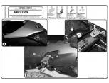 GIVI PLR5118KIT BMW F800R (09-16) YAN ÇANTA TASIYICI BAGLANTI KITI