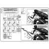 GIVI PLX449 KAWASAKI ER-6N - ER-6F 650 (09-11) YAN ÇANTA TAŞIYICI