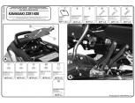 KAPPA KLX4104 KAWASAKI ER-6N - ER-6F 650 (12-16) YAN ÇANTA TASIYICI