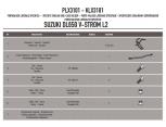 GIVI PLX3111 SUZUKI SV 650 (16-17) YAN ÇANTA TASIYICI