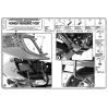 GIVI PLX177 HONDA XL 1000 VARADERO - ABS (07-12) YAN ÇANTA TASIYICI