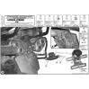GIVI PLX166 HONDA VFR 800 VTEC (02-11) YAN ÇANTA TASIYICI