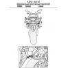GIVI PLX1137 HONDA CB 650F - CBR 650F (14-16) YAN ÇANTA TASIYICI