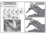 GIVI PLR7406CAM DUCATI MULTISTRADA 950-1200 (15-17) YAN ÇANTA TASIYICI