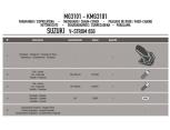 KAPPA KMG1109 HONDA NC 700 S-X NC 750 S-X - INTEGRA 700 ZINCIR MUHAFAZA VE ÇAMURLUK