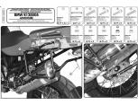 GIVI PL684 BMW R 1200GS (04-12) YAN ÇANTA TASIYICI