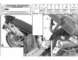 GIVI PL7705CAM KTM 1050 - 1290 (15-17) - 1190 (13-16) YAN ÇANTA TASIYICI