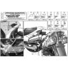 GIVI PL528 SUZUKI DL 1000 V-STROM (02-11) - KAWASAKI KLV1000 (04-10) YAN ÇANTA TAŞIYICI