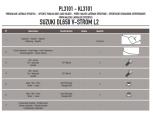GIVI PLX3101 SUZUKI DL 650 V-STROM (11-16) YAN ÇANTA TASIYICI