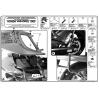 GIVI PL177 HONDA XL 1000 VARADERO - ABS (07-12) YAN ÇANTA TASIYICI