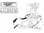 GIVI PLX1150 HONDA INTEGRA 750 (16) YAN ÇANTA TASIYICI