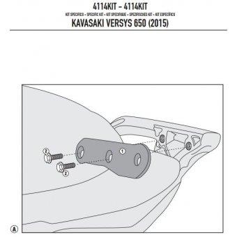 GIVI 4114KIT KAWASAKI VERSYS 650 (15-16) YAN ÇANTA TASIYICI BAGLANTI KITI