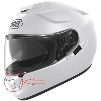 SHOEI GT-AIR ÇENE HAVALANDIRMA