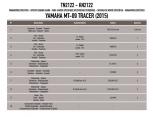 KAPPA KN1156 HONDA X-ADV 750 (17-19) KORUMA DEMIRI