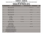 KAPPA KLXR2122 YAMAHA MT-09 TRACER (15-17) YAN ÇANTA TAŞIYICI